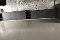 Kantoor - vloer en wand